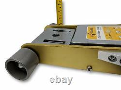 Liftmaster 3 Ton Aluminum and Steel Low Profile High Lift Floor Jack Gold