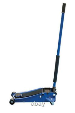 Low Profile Jack 3Ton Low Entry 85mm Twin Pump Design For Faster Lift