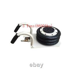 New 3 tons(6600lbs)Triple Bag Air Jack, Need External Gas Source, for Car Lift