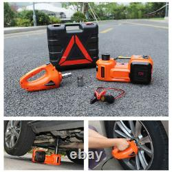 New 5 Ton Electric Hydraulic Floor Jack Lift Electric Impact Wrench Repair Kit