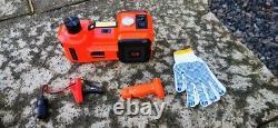 New Car Electric Jack Hydraulic Floor 12V DC 5 Ton 11023lb Lift Scissor Repair