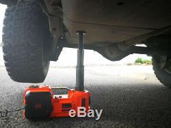 New Car Electric Jack Hydraulic Lift Floor 12VDC 5 Ton 11023lb Scissor Jack Auto