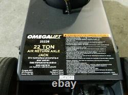 Omega Lift 22 Ton Air Return Axle Jack #23226