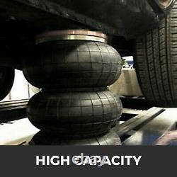 Pneumatic Triple Air Bag Car Jack Trolley 3 Ton 6600 lbs Cap 400 mm Lift Height
