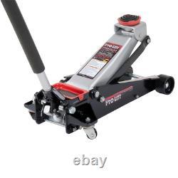 Pro Lift Floor Jack Garage Rubber Saddle Magnetic Tool Tray Heavy Duty 3-1/2 Ton