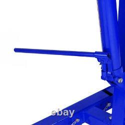 Professional 1Ton Hydraulic Folding Engine Crane Stand Hoist Lift Jack with Wheels