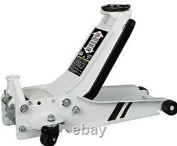 Professional Low Profile Entry Trolley Jack with Rocket Lift Car Garage 2.5 Ton