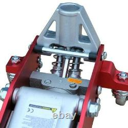 RACING TROLLEY JACK 1.5 Ton Low Profile Lightweight Alloy Fast Dual Piston Lift
