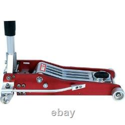 RACING TROLLEY JACK 3 Ton Lightweight Alloy Low Profile Fast Dual Piston Lift