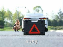ROGTZ Electric Car Floor Jack Set 3 Ton All-in-one Automatic 12v Scissor Lift Ja