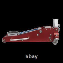 Sealey RJAS1500 Trolley Jack 1.5 Tonne Ton Aluminium Steel Rocket Lift Low Entry