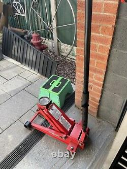 Snap On 3 Ton Trolley Jack Low Entry Quick Lift
