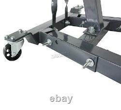 SwitZer 1 Ton Tonne Engine Crane Stand Hoist lift Jack Hydraulic Folding Grey