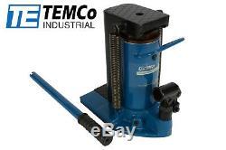 TEMCo Hydraulic Machine Toe Jack Lift 15 / 30 TON Track 5 YEAR Warranty