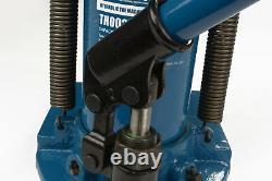 TEMCo Hydraulic Machine Toe Jack Lift 2.5 / 5 TON Track 5 YEAR Warranty