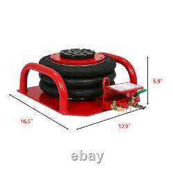 Triple Bag Air Jack Pneumatic Jack Lift 3 Ton Trolley Jack Height Adjustable