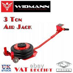 Widmann 3 Ton Car Pneumatic Air Quick Lifting Garage Mechanic Jack 3 Lift Bag