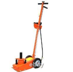 06156 Air Hydraulique 22ton Low Profile Ascenseur Jack Camion Trolley Garage Étage
