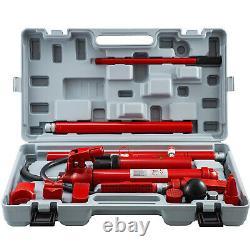12 Ton Porta Power Hydraulic Jack Body Frame Repair Kit 2m Longueur Hose Lift Ram
