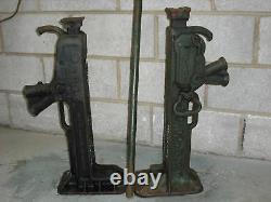 15 Ton Jacks De Cliquet, Jacks De Levage, 1 Paire De Crics +1 Manche Ex Armée