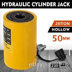20ton 2 Stroke Hollow Cylindre Hydraulique Jack Redressening Lift Cylinder Metal