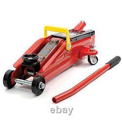 2 Ton Hydraulic Trolley Floor Jack Car Van Garage 2000kg Lift Tuv Ce Nouveau
