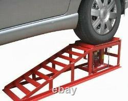 2 X 2 Tonnes De Levage Hydraulique Pour Véhicules Rampe Jack Heavy Duty Garage Outil Mécanique