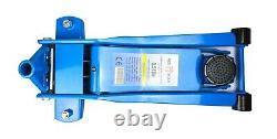 3,5 Tonnes Heavy Duty Low Profile Trolley Jack Garage Ultra Low High Lift Car Maitrisés