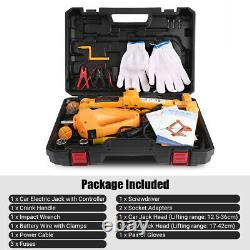 3 Ton 12v DC Automotive Électric-jack Lifting Car Suv Équipement D'urgence Neu