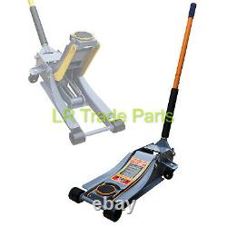 3 Ton 70mm Ultra Low Profile Entry Trolley Jack High Lift Garage Vehicle Car