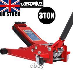 3 Ton 75mm 505mm Chariot Jack High Lift Voiture De Garage