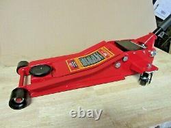 3 Ton 75mm Ultra Low Profile Trolley Jack Fast Lift Garage Car Floor Lifting
