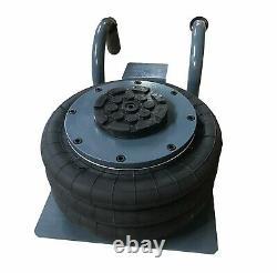 3 Ton Air Jack Triple Bag Jack De Levage Outil De Réparation De Voiture Couleur Noir 6600lbs