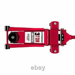 3 Ton Plancher Profil Bas Jack Heavy Duty Steel Rapid Lift Pump Hydraulic Car Auto