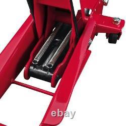 3 Ton Steel Heavy Duty Floor Jack Avec Rapid Pump Garage Shop Home Lifting Jack