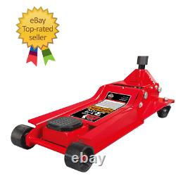 3 Ton Trolley Jack Low Entry 98mm Quick Fast Lift Professional Btj0033