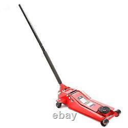 3 Tonne 70mm Ultra Low Profile Entrée Chariot Jack High Lift Garage Véhicule Voiture