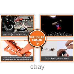 3 Tonne Car Electric Jack Floor Jack Lift Scissor Jacks Portable 12v DC Repair Kit