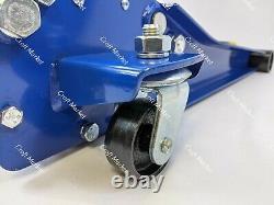 4 Tonnes Ultra Faible Profil Chariot Jack Ascenseur Rapide Double Pompe Vus 4x4 Van