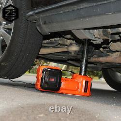 5 Ton Car Jack Electric Hydraulic Floor Jack Lift 45cm Avec Pompe De Gonflage De Pneu