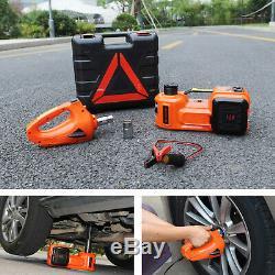 5 Ton Car Jack Lift 12v 5t Électrique Hydraulique Jack Étage Avec Set Clé À Chocs