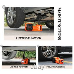 5 Ton Car Jack Lift 12v Electric Hydraulic Floor Jack Avec Impact Wrench Set