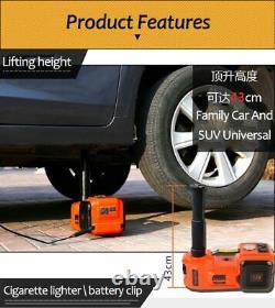 5 Ton Electric Hydraulic Floor Car Jack Lift Avec Electric Impact Wrench Suv Van