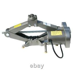 5 Ton Electric Scissor Car Jack Lift Automatic Garage Vehicle Tire Repair 12v États-unis