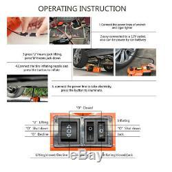 5 Tonnes Électrique Hydraulique Cric Lift + Électrique Clé À Chocs De Voiture Van