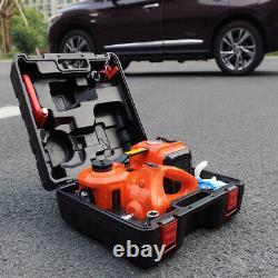 5 Tonnes Électrique Hydraulique Plancher Jack Lift+electric Impact Wrench Car Van
