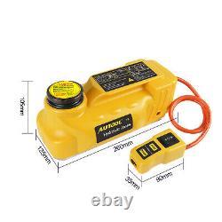5 Tonnes Électrique Hydraulique Prises Cric De Levage Outil + Clé À Chocs Électrique