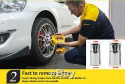 6 Ton Car Lift Vérins Électriques Hydraulique Clé À Chocs Jack Étage Kit Suv 12v DC