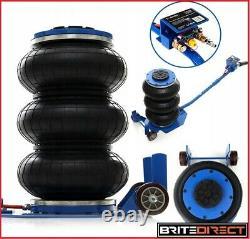 6 Ton Voiture Jack Pneumatic Air Quick Lifting 3 Lift Bag Garage Mechanic Van Pro