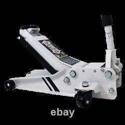 Autojack 2.5 Ton Professional Trolley Jack Low Profile Entrée Avec Rocket Lift